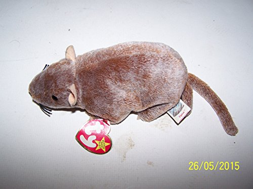 Ty Beanie Babies - Tiptoe the Rat