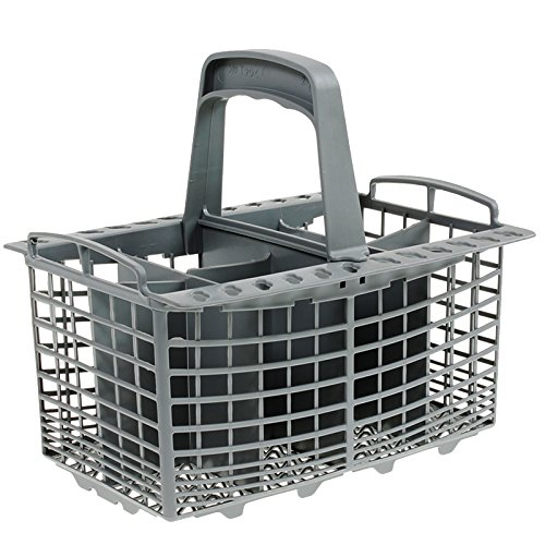 Price comparison product image First4Spares Premium Universal Replacement Dishwasher Silverware Flatware Basket - Grey