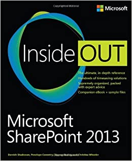 Microsoft SharePoint 2013 Inside Out (Inside Out (Microsoft))