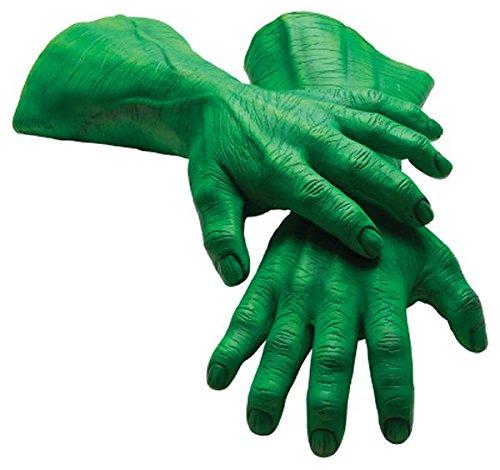 Marvel Rubie's Men's Universe Adult Latex Hulk Hands, Multi, One (Marvel Hulk Hands)
