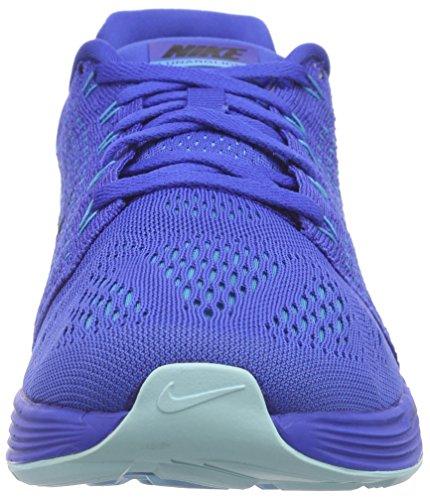 Nike Lunarglide 7 Zapatillas de running, Hombre Azul - Blau (Game Royal/Black/Blue Lagoon)