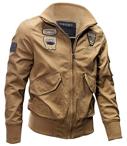 Fashion Leisure Longsleeve Apparel Warm Quilted Winter Solid khaki Mens Jacket Hooded Color 2 Transition Jacket Coat Outerwear Yvq4PKw