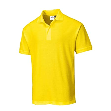 Portwest B210YERL - Naples polo shirt color: yellow talla: large ...