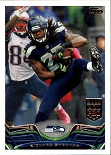 (2013 Topps w Rookies Seattle Seahawks Team Set 19 Cards Russell Wilson)