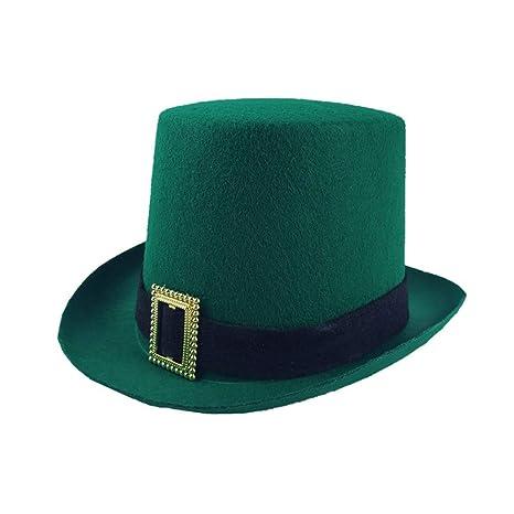 TENDYCOCO Cappello St. Patrick s Day Hat Irish Festival Decor Hat  Divertente Cap per festa Festival c79497edc31c