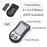Multi-function 8 in 1 Electronic Handheld Compass