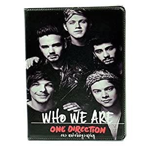 Unique One Direction Who We Are Pattern Leather Stand Case Smart Cover For Apple ipad 2 , ipad 3, ipad 4