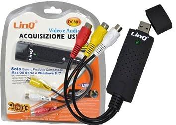 TARJETA USB PARA PC ADQUISICIÓN DE VÍDEO 1 CANAL CH AUDIO ...