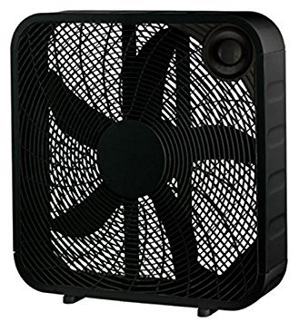 WP 20' BLK Box Fan