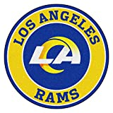 FANMATS 17976 NFL St. Louis Rams Roundel Mat