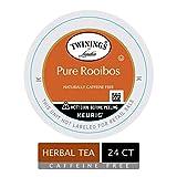 Twinings of London Pure Rooibos Herbal Tea K-Cups for Keurig, 24 Count