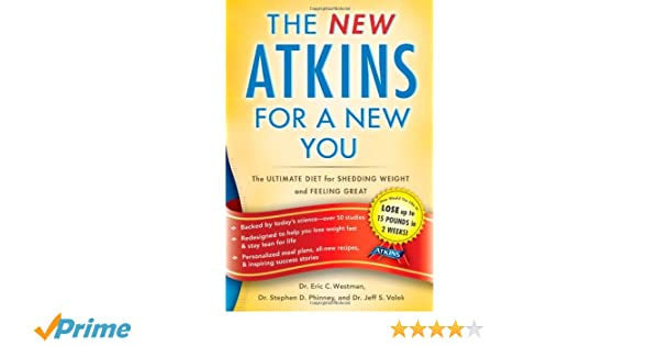 NEW ATKINS FOR A NEW YOU: Amazon.es: ERIC C. WESTMAN: Libros en idiomas extranjeros