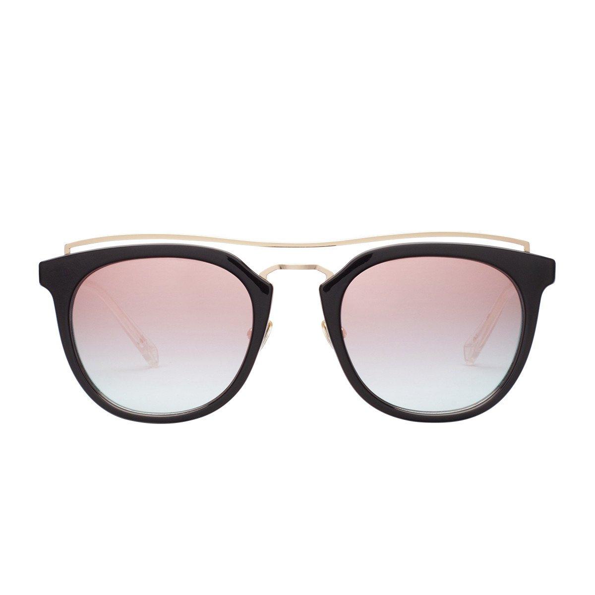 acf929f431e80 Amazon.com  PERVERSE sunglasses Lynna Clubmaster Sunglasses (Black ...