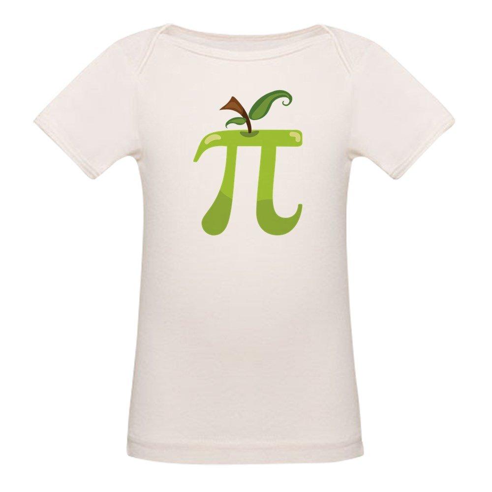 CafePress Apple Pi Organic Cotton Baby T-Shirt