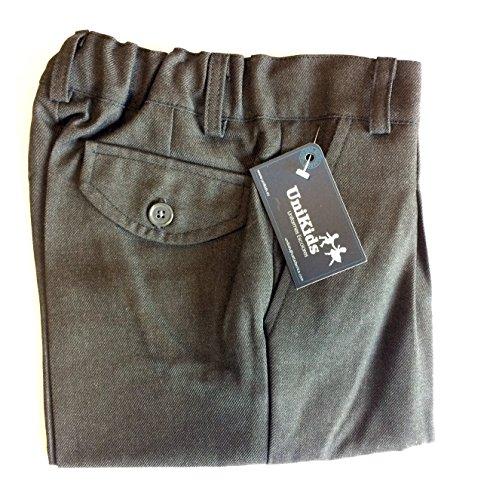 51KGXFVAD2L Pantalón corto gris uniforme escolar Ideal para el uniforme de colegio 65% Poliéster, 35% Viscosa