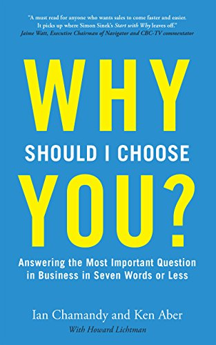 Why Should I Choose You (in Seven Words Or Less)? cover