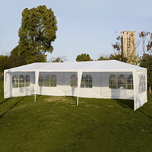 [Party Outdoor Tents 10'x30' Wedding Patio Canopy Heavy Duty Gazebo Pavilion Event] (Tv Commercial Costumes Halloween)