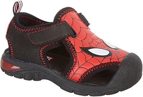 Marvel Spiderman Sps610 Boys' Infant-Toddler Sandal,Red,10