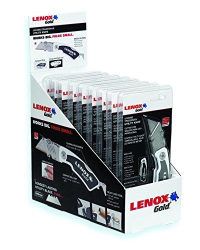 Lenox 1077210FLK1CTM Original Locking Trade Knife with Knifeivel CTM Tip