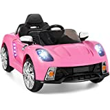 Best Choice Products 12V Kids Battery Powered Remote Control Electric RC Ride-On Car w/MP3 and AUX - Pink