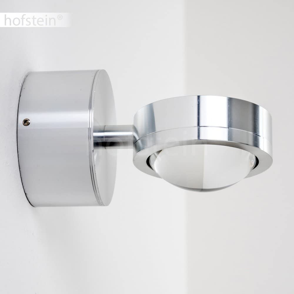 Sconce Wall Light Hallway Living Room Bedroom LED Wall Light Harare 7.5 cm Chrome 1x 3W LED Blue Colour Filter