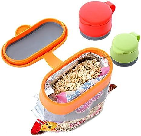 Silicone Magic Food Bag Sealing Clips Fresh Multifunctional Silicone Sealing Cap