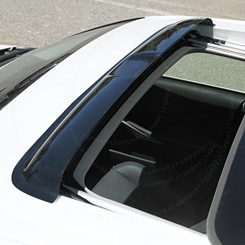 5pc 2mm Outside Mount Visor Rain Guards Sunroof Combo For Acura MDX 01-06 4 Door