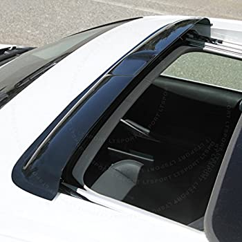 Fit 2007-2011 Nissan Sentra Window Visor Rain Guard Moon Sun roof Shade 4-Door