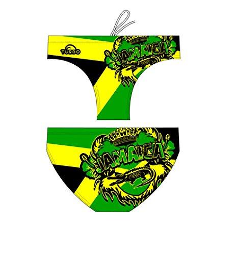 TURBO Badehose Herren JAMAICA CREST Slipgr. 5 / dt. Gr. 48 / Turbo Gr. L