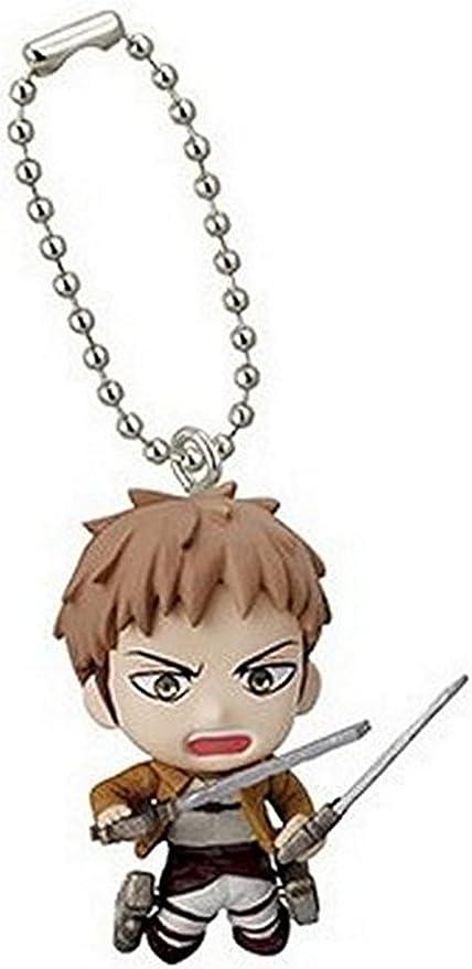 Attack on Titan Swing Keychain Titan Figure