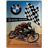 Nostalgic-art-bilderpalette bMW pour les exigences les plus élevées en fer blanc 30 x 40 cm