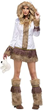 Horror-Shop Señora atractiva del traje de esquimal S/M: Amazon.es ...