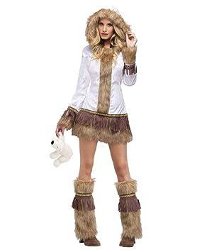Horror-Shop Señora atractiva del traje de esquimal M/L ...