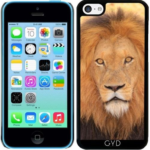 Coque pour Iphone 5c - Lion Tigre Sauvage by WonderfulDreamPicture