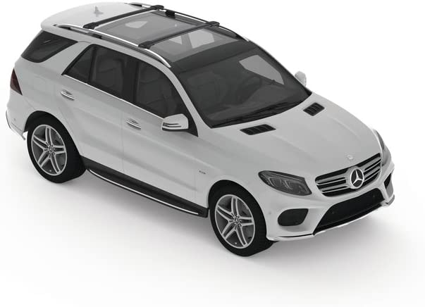 Silver Yakima Premium Crossbar for Vehicles with Factory Equipped Raised Siderails RailBar special order X-Small