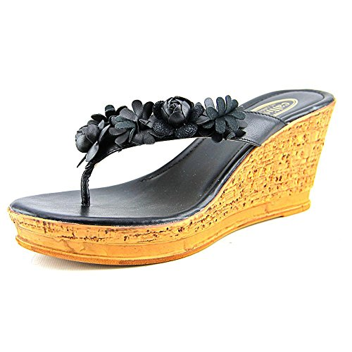 Callisto Flora Women US 9 Black Wedge (Callisto Clothing)