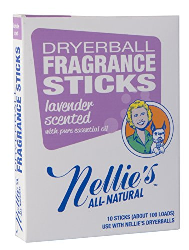Nellie's All-Natural Fragrance Sticks - Lavender - 10 ct (Nellies All Natural Dryer Balls)