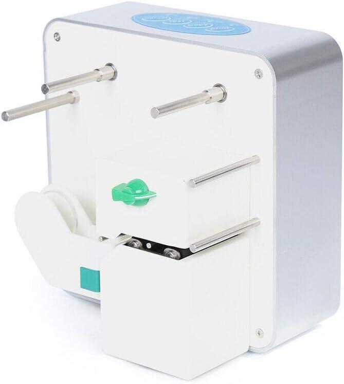 DONNGYZ Digital Commercial Desktop Ribbon Printer Thermal Stamping Belt Hot Foil Stamping Machine DIY Packaging Gift Logo Printing Length Unlimite (US Stock)