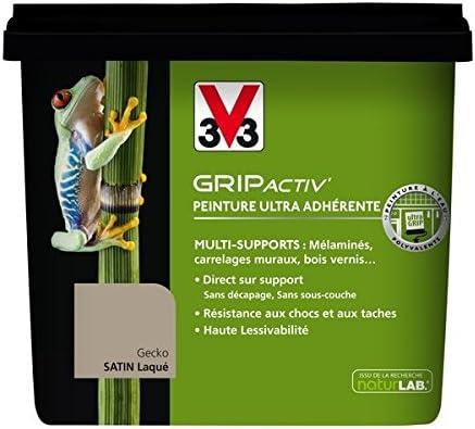V33 Peinture Grip Activ 0l75 Gecko Amazonfr Bricolage
