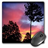 3dRose WhiteOaks Photography and Artwork - Nature Scene - Georgia Fire in the Sky is a photo not enhanced of a Georgia Sky - MousePad (mp_265356_1)