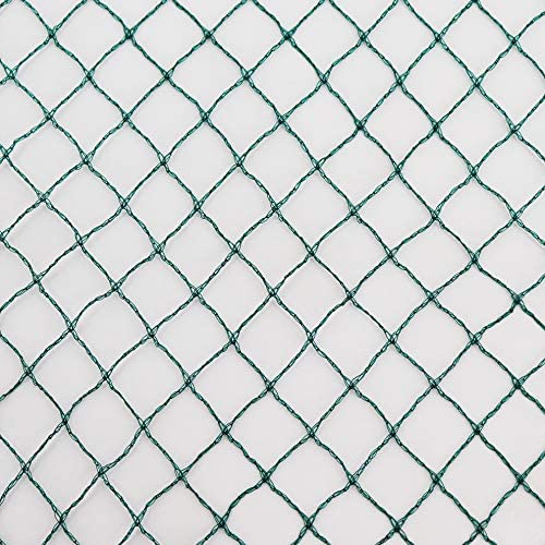 8 Stück Vogelnetz 4 x 5 m Schutznetz Pflanzenschutznetz Teichnetz Netz Laubnetz