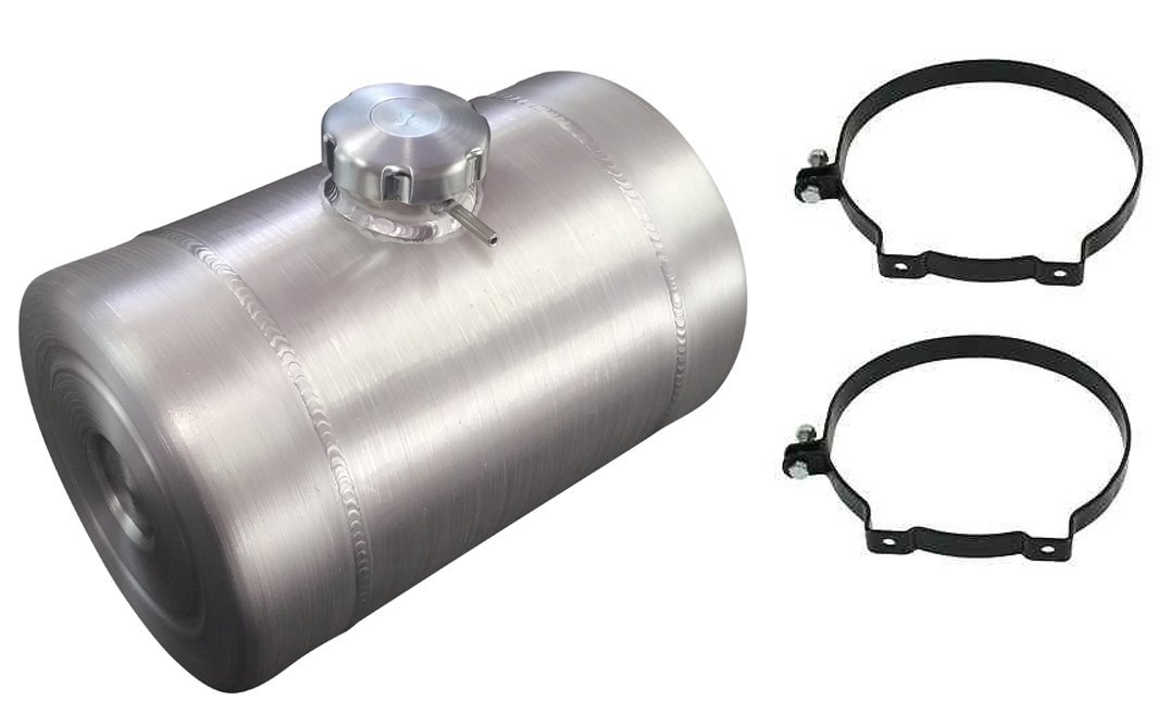 DUNE BUGGY 1//4 NPT 9 Gallon 10X26 End Fill Spun Aluminum Gas Tank  RATROD