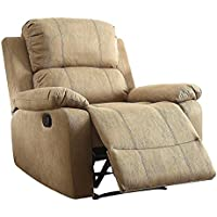 Major-Q 3059526 Furniture Recliner Memory Foam Pillow Top Arm Chair