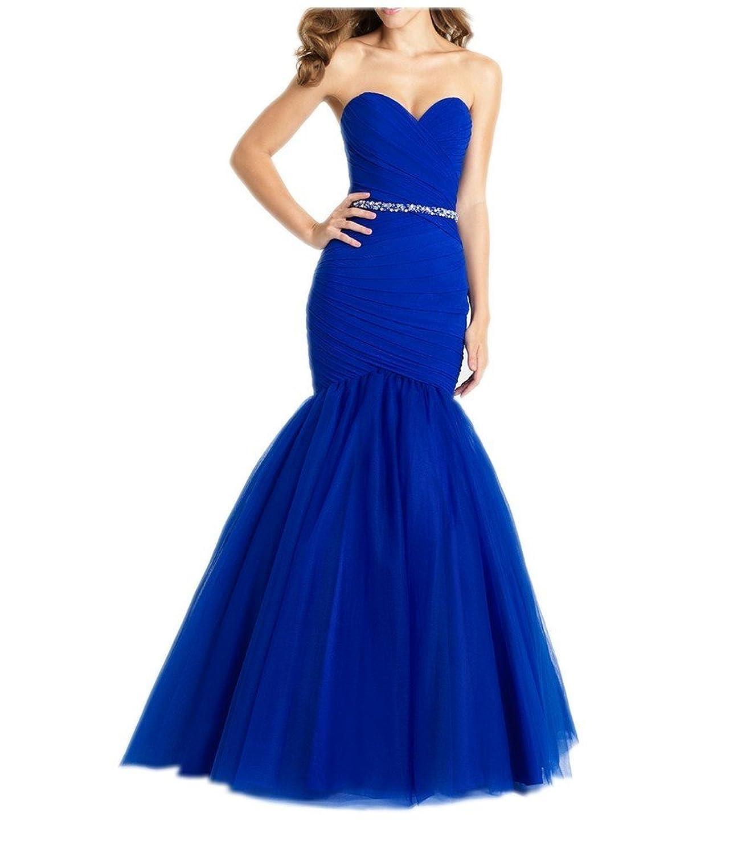 Charm Bridal 2016 Mermaid Prom Dress Women Ball Dress Party Dress Sweetheart New