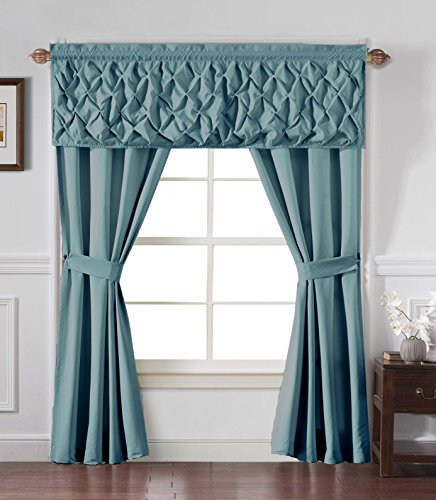 unique window curtain set