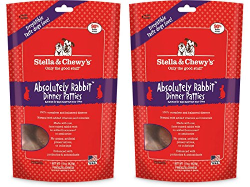 (Stella & Chewy's Freeze Dried Absolutely Rabbit Dog Food, 14 oz - 2 Pack ( 28 Oz Total))