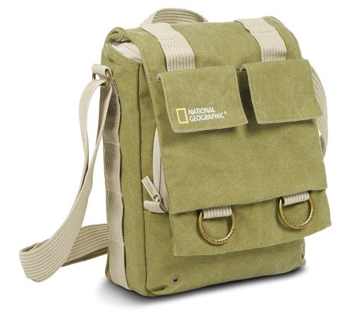 National Geographic NG 2300 Earth Explorer Slim Shoulder Bag (Geographic National Explorer Bag Earth)