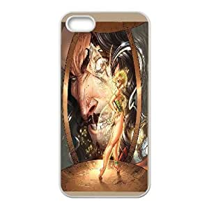 Fairy Sexy Women IPhone 5,5S Case, Case Kweet {White}
