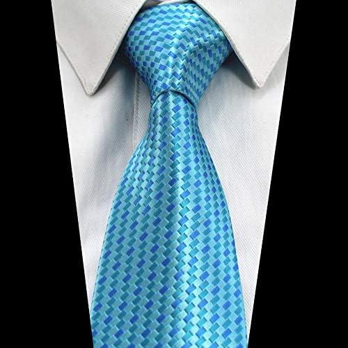 LLZGPZLD Corbata/Corbata De Cuadros A Cuadros para Hombre Corbata ...