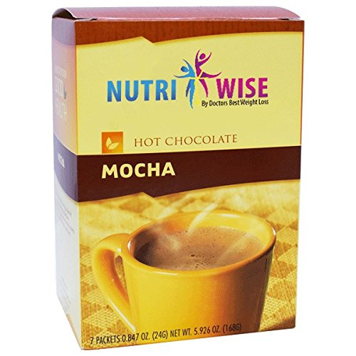 NutriWise – Mocha Hot Chocolate Protein Drink (7 packets/box)